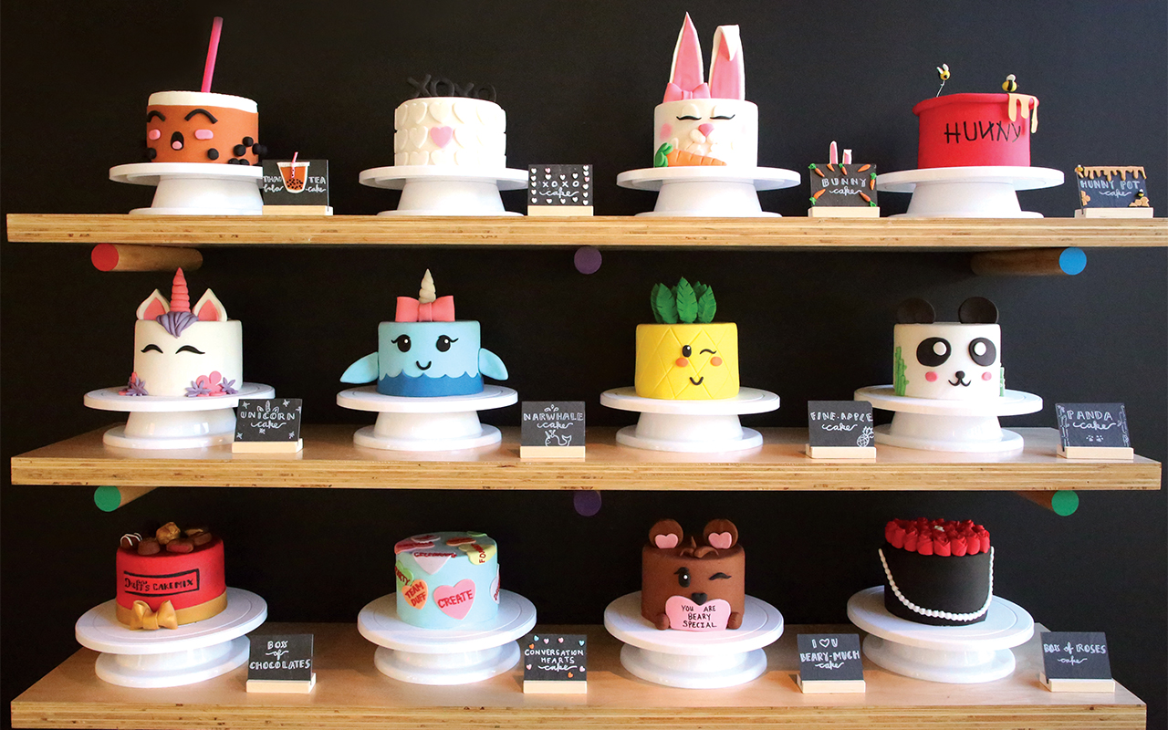 Food Network Star S Pasadena Cake Studio Lets You Decorate Your Own Cake