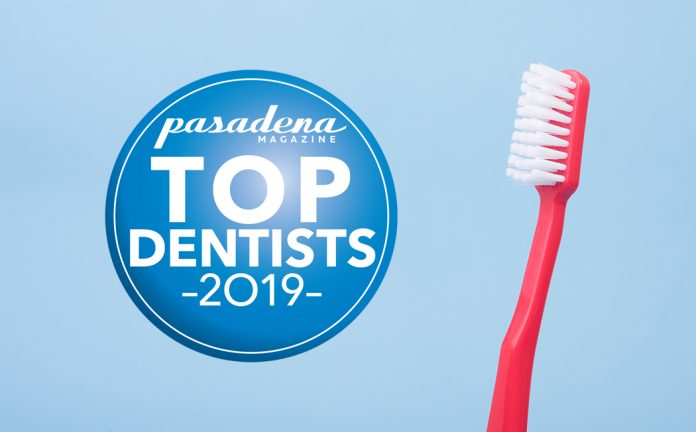 Pasadena Magazine's 2019 Top Dentists